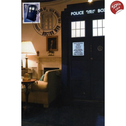 Dr Who Maximum card - Tardis 8