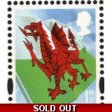 W148 1st Wales flag from Football PSB