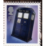 3452 Doctor Who Tardis gummed stamp SG..