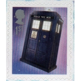 3451b Doctor Who PSB mini-sheet Tardis..