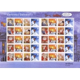 LS21 Father Christmas 2004 Smilers Sheet