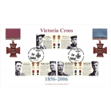 2659 Victoria Cross set Norvic FDC 2006