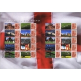 LS38 Glorious England Smilers Sheet se..