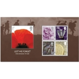 2796MS Lest We Forget 2007 MS mint