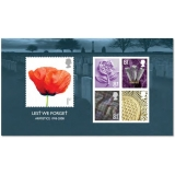 2886MS Lest We Forget 2008 MS mint