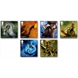 2944 Mythical Creatures set of 6 mint