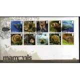 3054 Mammals first day cover 2010