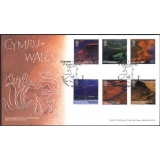 2472 British Journey: Wales FDC 2004