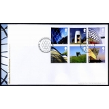 2634 Modern Architecture Royal Mail FDC