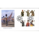 2774 Army Uniforms Norvic fdc 2007