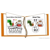 2589u Animal Tales on Norvic Book fdc ..