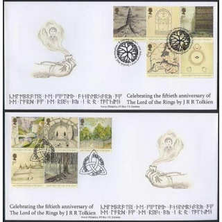 2429 Lord of the Rings Norvic FDC
