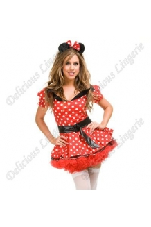 Delicious Disney Minnie Mouse Fancy Dress Costume