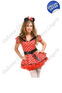Delicious Minnie Mouse Fancy Dress Costume