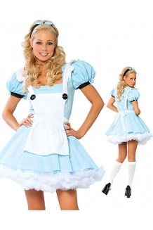 Blue Alice in Wonderland Costume