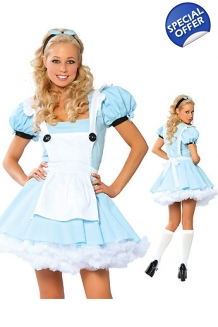 Blue Alice in Wonderlan..
