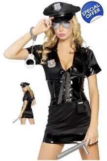 Police Woman Fancy Dress