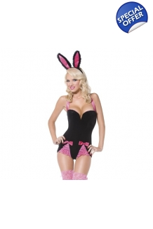 Black Playboy Bunny Fan..