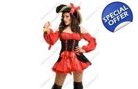Red Pirate fancy dress ..