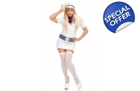 White Sailor Fancy Dress