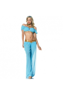 Kim Kardashian Princess Jasmine Fancy Dress Costume