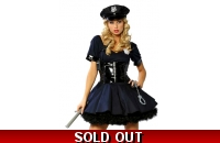 Police Fancy Dress PVC ..