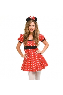 Flirty Minnie Mouse Fancy Dress