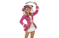Pink Pirate fancy dress..
