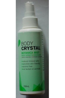 Body Crystal Mist Botanica - 150ml
