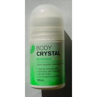 Body Crystal Roll-on Botanica - 80ml