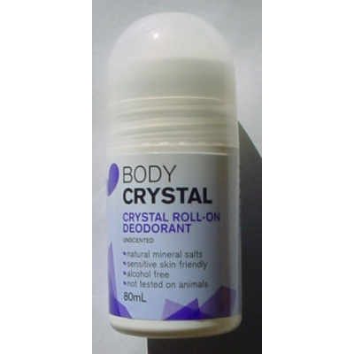 Body Crystal Roll-on Fragrance Free - 80ml