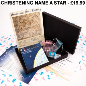 Name a Star Christening Pack