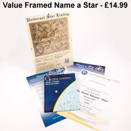 Framed Value Name a Star