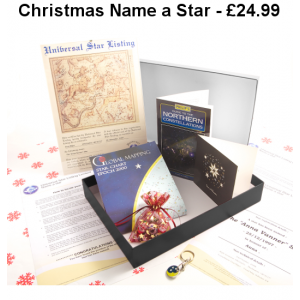 Name a Star Christmas Pack