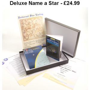 Framed Deluxe Name a Star