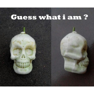 skull shape pumpkins mold