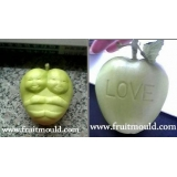 heart shaped apple