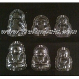 buddha shaped plastic molds for pears ..