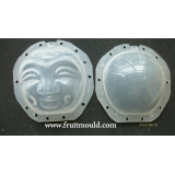 face shaped fruit mold