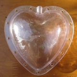 heart shape fruit molds for apple pear