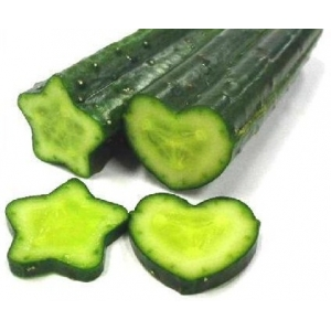 star and heart shape cucumber mold sets
