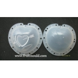 heart shaped fruit mold