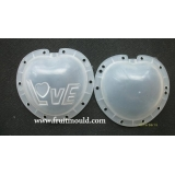 love heart shaped fruit mold