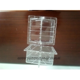 heart and square shape plastic mold or..
