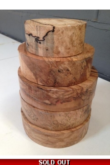 5kg Spalted Beech