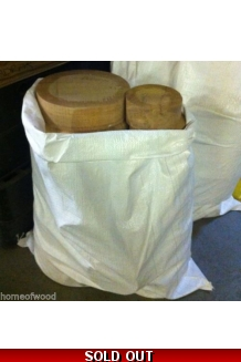 Sack of OAK TURNING BLA..