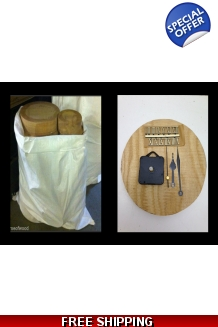 1 Sack + free clock kit