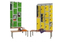 Lockers - Bench Fronts and Stands - Run of 3 Seats