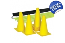 Gray-Nicolls Agility Pole/Cone Set