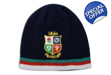 BRITISH & IRISH LIONS ACRYLIC FLEECE BEANIE